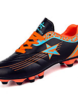 Мальчики Спортивная обувь Полиуретан Весна Лето На низком каблуке Оранжевый Зеленый Менее 2,5 см