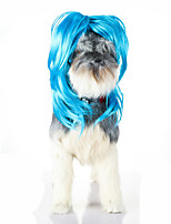 Cat Dog Fashion Blue Wig for Party  Holiday Cosplay Halloween Chirstmas