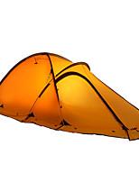 2 personnes Tente Double Tente automatique Une pièce Tente de camping 2000-3000 mm Résistant à l'humidité Etanche-Camping Voyage
