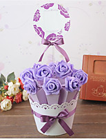 10/Group Creative Wedding Wedding Flower POTS And joyful Bag Box Sugar Candy Box