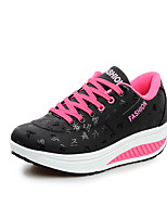 Women's Shoes Comfort Light Soles Spring Summer Shape Up Athletic Casual Lace-up Wedge Heel Platform Trainers