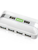 Haile hu-05 weiss mini-square 7port usb 2.0 Nabe mit 80cm Kabel