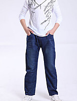 Boys' Casual/Daily Solid Jeans-Polyester Summer All Seasons