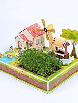 Пазлы 3D пазлы Строительные блоки Игрушки своими руками Лошадь Бумага