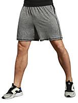 Homme Masculin Course / Running Cuissard  / Short Fitness, course et yoga Evacuation de l'humidité Toutes les SaisonsCourse Fitness
