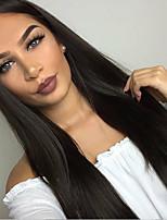 9a grau de cabelo virgem brasileiro com pernas de renda sem glúten perucas de cabelo humano liso reto cheio perucas de cabelo remy virgem