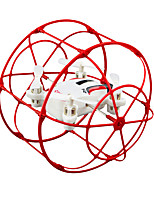 HY370 Red Drone 4CH 6 Axis - LED Lighting Failsafe HoverRC Quadcopter Remote Controller/Transmmitter USB Cable User