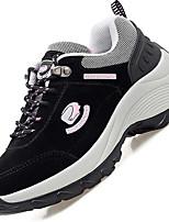 Women's Sneakers Comfort Flocking Spring Casual Comfort Fuchsia Purple Black Flat