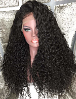 Top Quality Brazilian Curly Virgin Hair Glueless Full Lace Wig for Women 150% density Natural Color