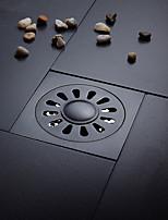 Bathroom Accessory Antique Brass Finish Solid Brass Floor Drain