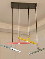 Lampe suspendue ,  Contemporain Peintures Fonctionnalité for LED Style mini Designers MétalSalle de séjour Chambre à coucher Salle à