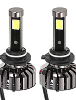 KKmoon Pair of 9006 HB4 DC 12V 40W 4000LM 6000K LED Headlight Lamp Kit Light Bulbs