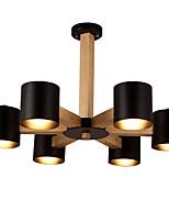 Lámparas Colgantes ,  Moderno / Contemporáneo Tradicional/Clásico Cosecha Campestre Madera Característica for LED Madera/BambúSala de