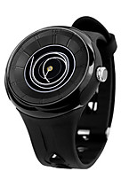Women's Men's Fashion Watch Quartz Automatic self-winding Water Resistant / Water Proof Rubber Band Black