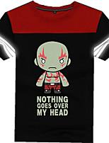 Fantasias de Cosplay Moletons Estampa Anime Super-Heróis Guerreiro Fantasias de Filme e Tema de TV Cosplay de Filmes CamisetaDia Das