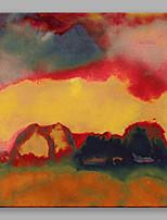 Pintados à mão AbstratoAbstracto 1 Painel Tela Pintura a Óleo For Decoração para casa