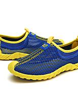 Мальчики Спортивная обувь Тюль Лето Беговая обувь Комбинация материалов На плоской подошве Оранжевый Зеленый Синий 4,5 - 7 см