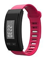 Bracelet d'Activité Longue Veille Calories brulées Pédomètres Sportif Podomètre Chronographe Pas de slot carte SIM