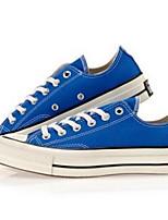 Da uomo Sneakers Di corda Primavera Bianco Nero Royal Blue Piatto