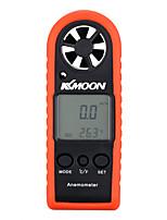 Kkmoon портативный мини профессиональный lcd цифровой анемометр скорость ветра скорость воздуха воздух температура тест инструмент