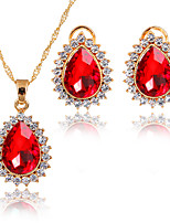 Jewelry Set Pendant Necklaces Bridal Jewelry Sets AAA Cubic Zirconia Euramerican Fashion Adorable Simple Style ClassicCubic Zirconia