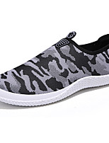 Men's Loafers & Slip-Ons Comfort PU Spring Fall Athletic Comfort Flat Heel Blue Yellow Gray Flat