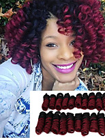 Synthetic african curls curlkalon hair 20inch kenzie curls ombre color kanekalon crochet braiding hair extension Bouncy Curly 20roots/pack