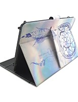For iPad Case with Removable Keyboard Bluetooth Russian Version 9-10.5 inch Universal Dream Catcher PU leather For Pro 10.5 iPad (2017) Pro9.7 Air