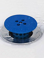 Silicone Hair Catcher Drain Stoppers Bathtub Shower Bath Caddies Strainer Snare  Random Color