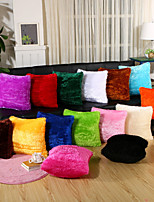 15 Color Velveteen Solid Color Square Pillow Cover Simple Pillow Case