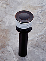 Oil Rubbed Bronze Pop-up Water Drain