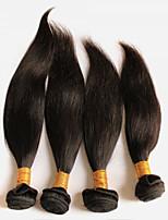 Tissages de cheveux humains Cheveux Péruviens Droit 18 Mois 4 Pièces tissages de cheveux