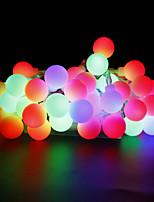 W Guirlandes Lumineuses lm AC220 AC 110-130 10 m 100 diodes électroluminescentesBlanc chaud Blanc Rouge Jaune Bleu Incarnadin Plusieurs