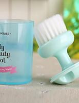 Bath Brush Plastic Daily Bath Caddies Superfine Fiber