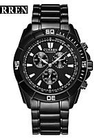 Жен. Муж. Спортивные часы Нарядные часы Смарт-часы Модные часы Наручные часы Уникальный творческий часы Китайский КварцевыйКалендарь