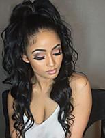 130% плотные волнистые глянцевые кружевные кружевные кружевные парики с кружевами для волос из дешевых бразильских 100% человеческих волос