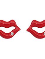 Ohrstecker Tropfen-Ohrringe Kreolen StrassBasis Einzigartiges Design Logo Stil Strass Freundschaft USA bezaubernd Britisch