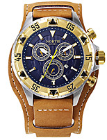 Homens AdolescenteRelógio Esportivo Relógio Militar Relógio Elegante Relógio de Moda Relógio de Pulso Bracele Relógio Único Criativo