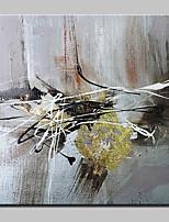 Ручная роспись Абстракция Абстракция Модерн 1 панель Холст Hang-роспись маслом For Украшение дома