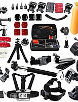 Para Todos Gopro 5 Gopro 4 Silver Gopro 3+ Sport DV SJCAM SJ4000 SJ5000 SJ7000 SJCAM
