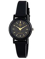 Casio Mujer Reloj Deportivo Reloj de Moda Reloj de Pulsera Japonés Cuarzo Resistente al Agua Caucho Banda Encanto Cool Casual Negro