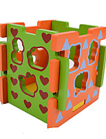 Building Blocks Pegged Puzzles For Gift  Building Blocks Square Wood 2 to 4 Years 5 to 7 Years Toys