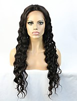Glueless Lace Front Human Hair Wigs With Baby Hair Brazilian Remy Wave Bleached Knots