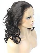 Ilusão cabelo cabelo humano laço frente peruca super onda