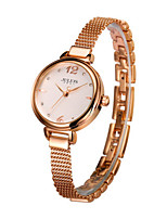 Women's Fashion Watch Quartz Water Resistant / Water Proof Alloy Band Casual Silver Gold Pink Rose Gold