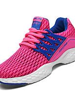 Women's Athletic Shoes Comfort PU Spring Fall Casual Flat Heel Blushing Pink Black Flat