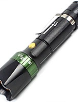 LED Flashlights/Torch LED Lumens Mode 18650 Compact Size
