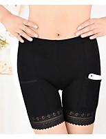 Femme Push-up Solide Shorts & Slips Garçon Boxers