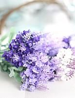 1 Une succursale Polyester Lavande Fleur de Table Fleurs artificielles
