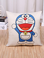 1 Pcs Cartoon Cat Pattern Pillow Cover 45*45Cm Sofa Cushion Cover Cotton/Linen Pillow Case